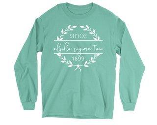 Alpha Sigma Tau Since 1899 Long Sleeve