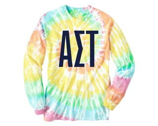 Alpha Sigma Tau Tie Dye Long Sleeve