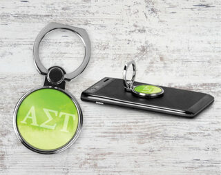 Alpha Sigma Tau Water Color Phone Ring