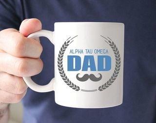Alpha Tau Omega Dadstache Mug
