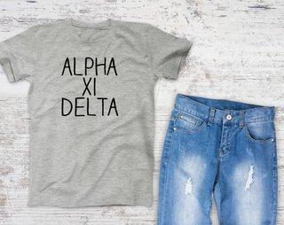 Alpha Xi Delta Campus Tee