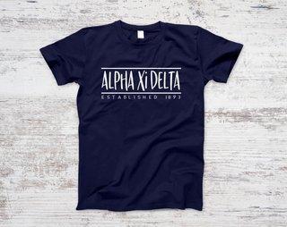 Alpha Xi Delta Established Tee