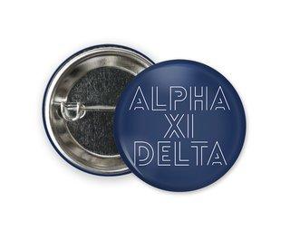Alpha Xi Delta Modera Button