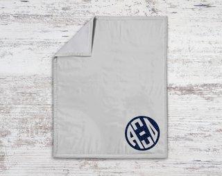 Alpha Xi Delta Monogram Blanket