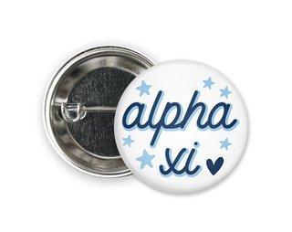 Alpha Xi Delta Star Button