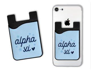 Alpha Xi Delta Star Card Caddy