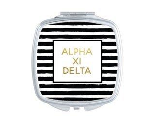 Alpha Xi Delta Striped Compact