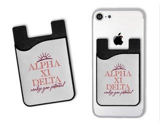 Alpha Xi Delta Sun Card Caddy