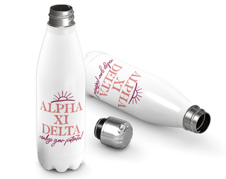 Alpha Xi Delta Sun Water Bottle