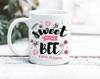 Alpha Xi Delta Sweet Bee Mug
