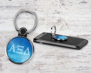 Alpha Xi Delta Water Color Phone Ring