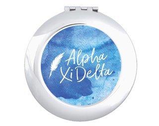 Alpha Xi Delta Watercolor Script Compact