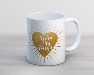 APhiO Heart Burst Mug