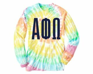 APhiO Tie Dye Long Sleeve