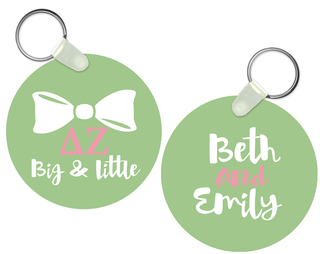 Big and Little Keychain