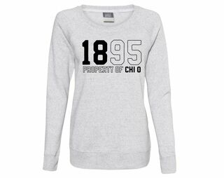 Chi Omega Established Crewneck Sweatshirt