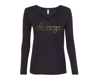Chi Omega Established Long Sleeve