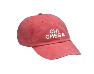 Chi Omega Simple Hat