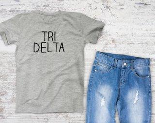 Delta Delta Delta Campus Tee