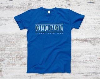 Delta Delta Delta Established Tee