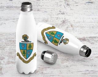 Delta Delta Delta Crest - Shield Stainless Steel Water Bottle