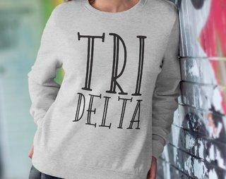 Delta Delta Delta Inline Sweatshirt