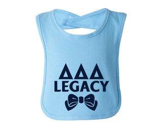 Delta Delta Delta Legacy Bib