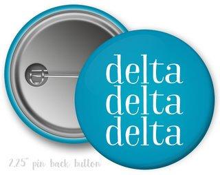 Delta Delta Delta Simple Text Button