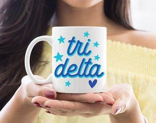 Delta Delta Delta Star Mug