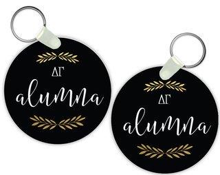Delta Gamma Alumna Keychain