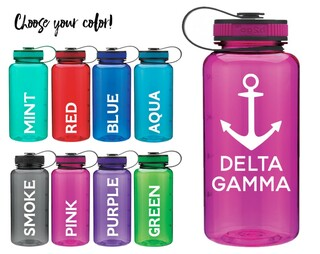 Delta Gamma Anchor Water Bottle