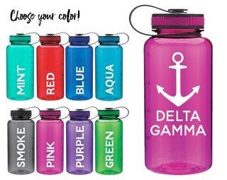 Delta Gamma Anchor Water Bottle