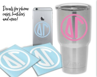 Delta Gamma Circle Decal