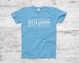 Delta Gamma Established Tee