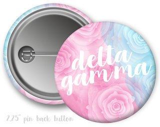 Delta Gamma Floral Button