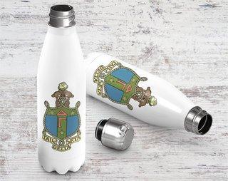 Delta Gamma Crest - Shield Stainless Steel Water Bottle