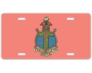 Delta Gamma Crest - Shield License Plate