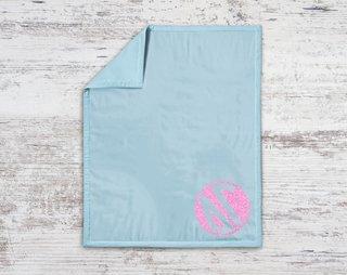 Delta Gamma Monogram Blanket
