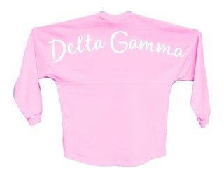 Delta Gamma Script Jersey