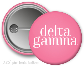 Delta Gamma Simple Text Button