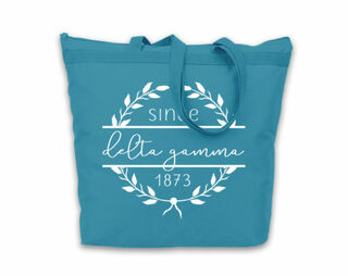 Delta Gamma Since Established Tote bag