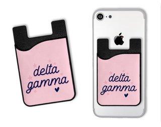 Delta Gamma Star Card Caddy