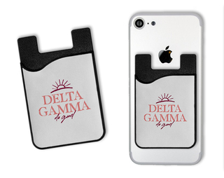 Delta Gamma Sun Card Caddy