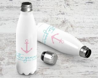 Delta Gamma Established Stainless Steel Water Bottle