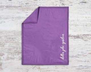 Delta Phi Epsilon Script Blanket