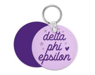 Delta Phi Epsilon Star Key Chain