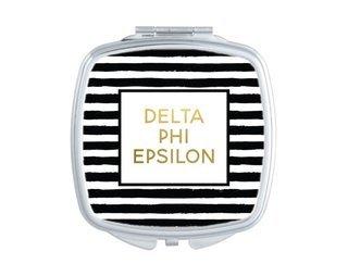 Delta Phi Epsilon Striped Compact