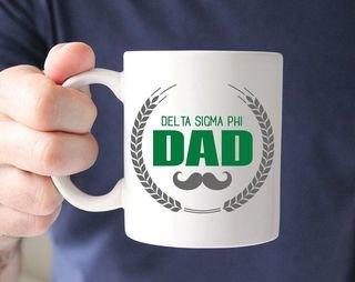Delta Sigma Phi Dadstache Mug