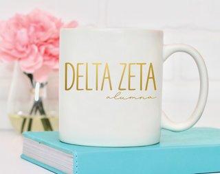 Delta Zeta Alumna Mug