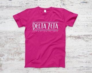 Delta Zeta Established Tee